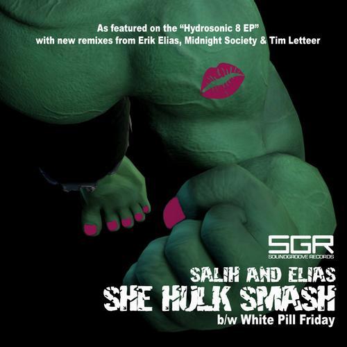 Album Art - She Hulk Smash / White Pill Friday (2013 Remixes)