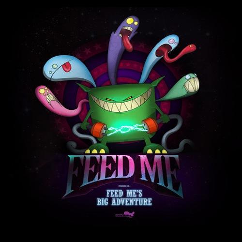 Feed Me's Big Adventure Album Art