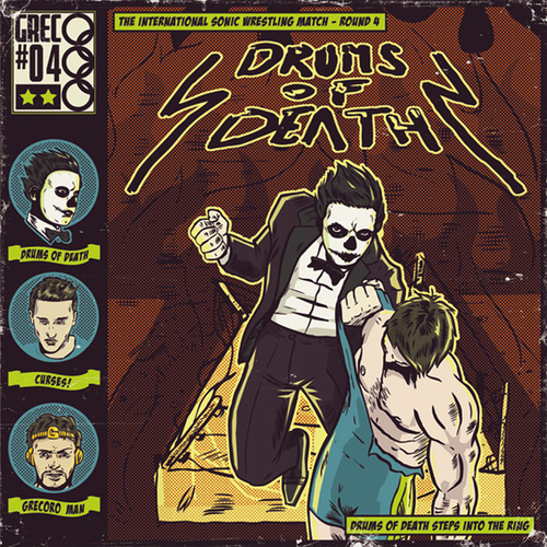 Album Art - Drums Of Death Steps Into The Ring