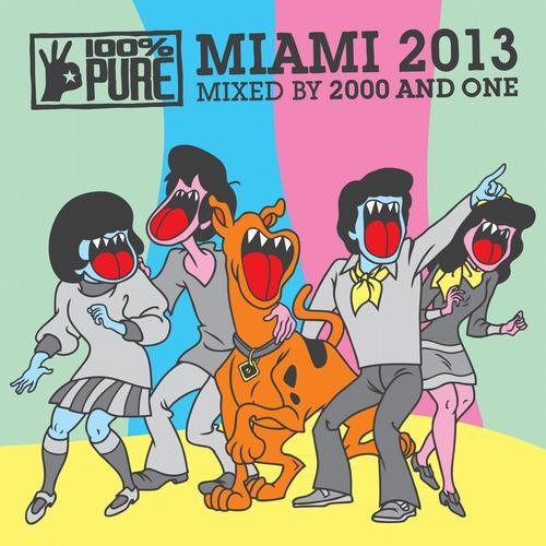 Album Art - 100% Pure Miami 2013