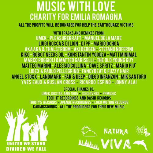 Album Art - Music With Love - Charity For Emilia Romagna