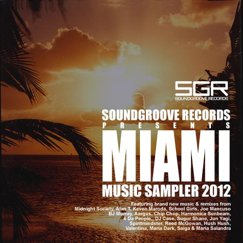 Album Art - Miami Music Sampler 2012