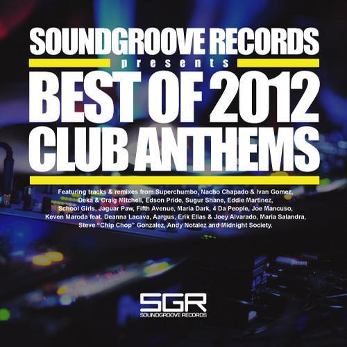 Album Art - Best Of 2012 - Club Anthems