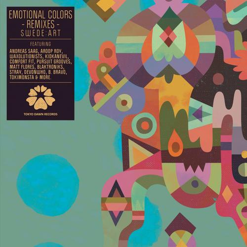 Album Art - Emotional Colors Remixes