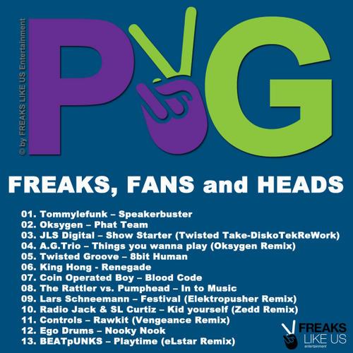 Album Art - Purple & Green - Freaks Fans & Heads