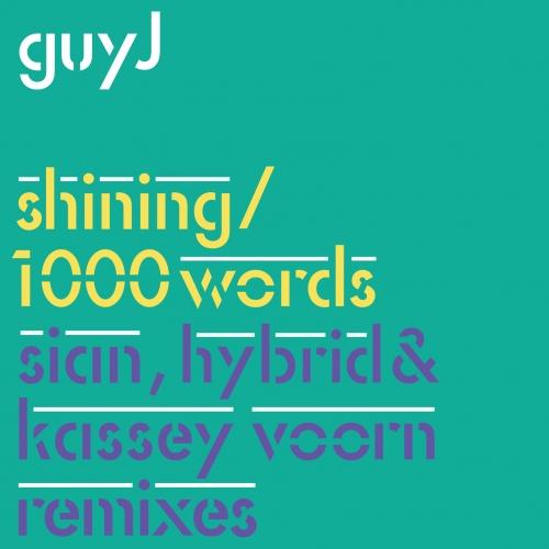 Shining / 1000 Words Remixes Album Art