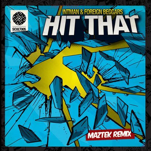 Hit That  Calvetron Remix Album Art