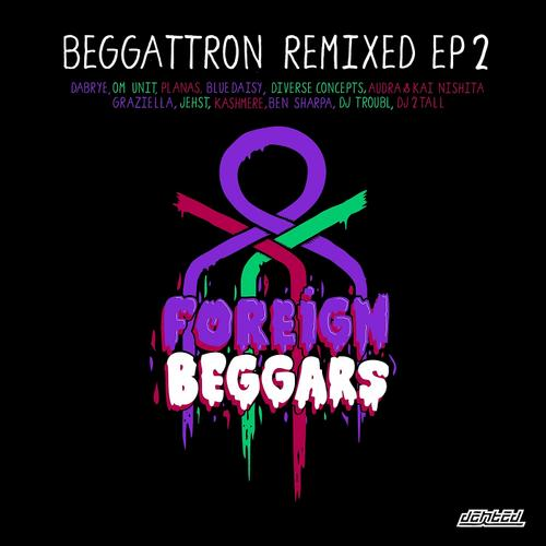 Beggattron Remixed EP 2 Album Art