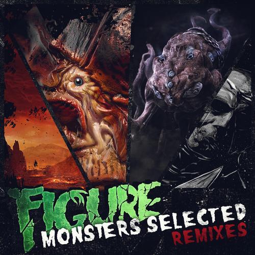 Album Art - Monsters Selected Remixes
