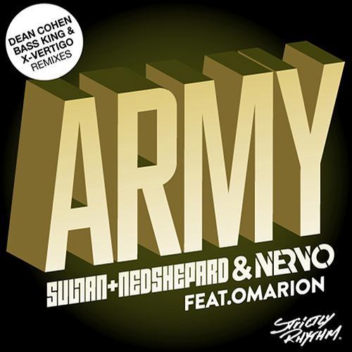 Album Art - Army (Dean Cohen & Bass King & X-Vertigo Remixes)