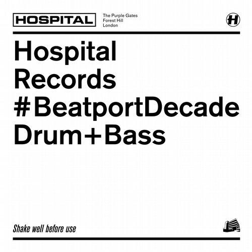 Album Art - Hospital Records #Beatport Decade Drum & Bass