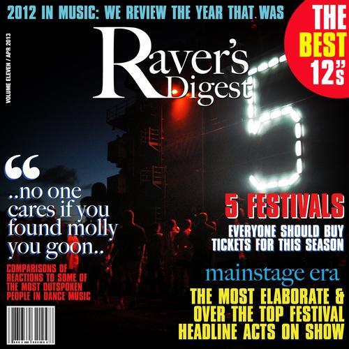 Ravers Digest (April 2013) Album Art