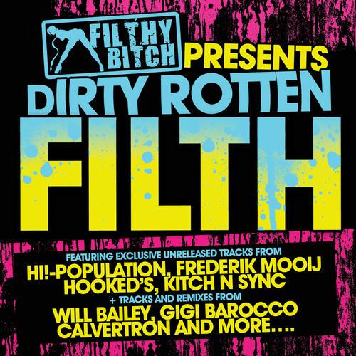 Album Art - Filthy Bitch Presents Dirty Rotten Filth