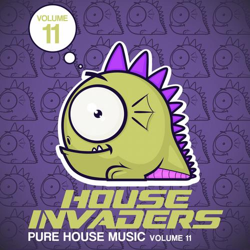 Album Art - House Invaders - Volume 11