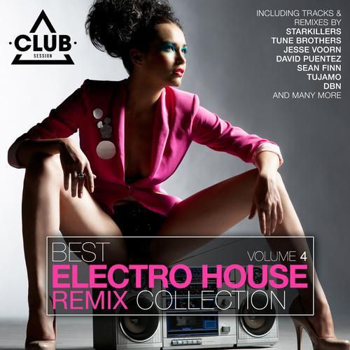 Album Art - Best Electro House Remix Collection Volume 4