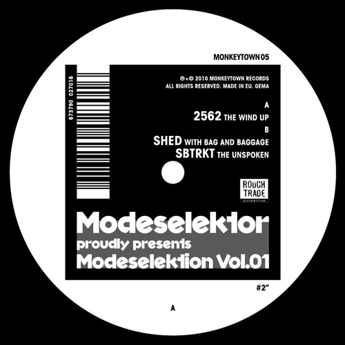 Album Art - Modeselektion Vol. 01 #2