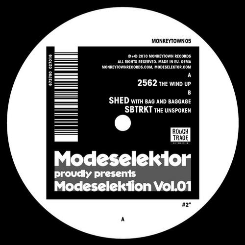 Album Art - Modeselektion Vol.01 #2