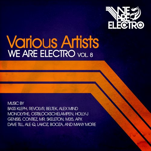 Album Art - We Are Electro Vol. 8