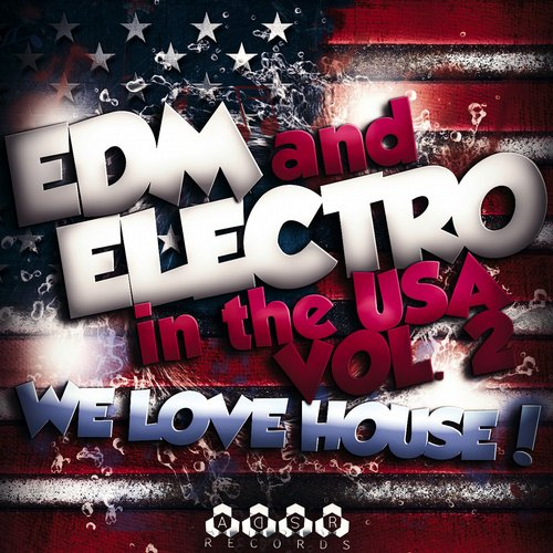 Album Art - EDM and Electro in USA, Vol. 2