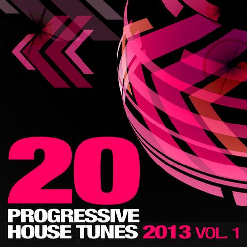Album Art - 20 Progressive House Tunes 2013, Vol. 1