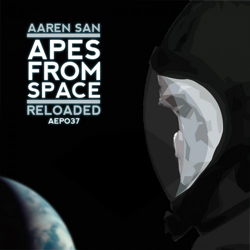Apes From Space Reloaded Album Art