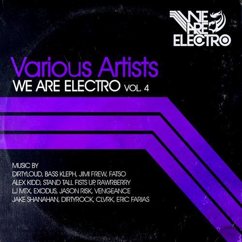 Album Art - We Are Electro Vol. 4
