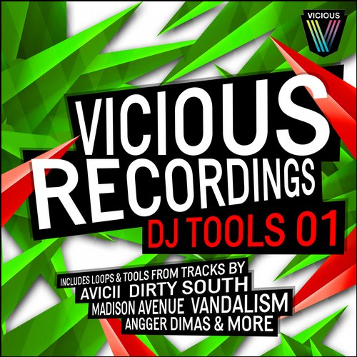 Album Art - Vicious Recordings DJ Tools 01