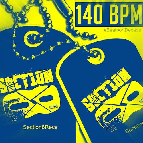 Album Art - Section 8 Bass #BeatportDecade Dubstep