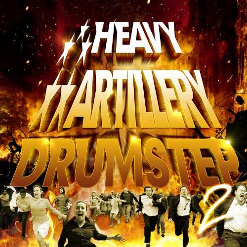 Album Art - Heavy Artillery Drumstep 2