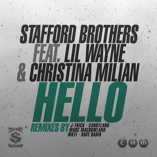 Album Art - Stafford Brothers Feat Lil Wayne & Christina Milian HELLO Remixes