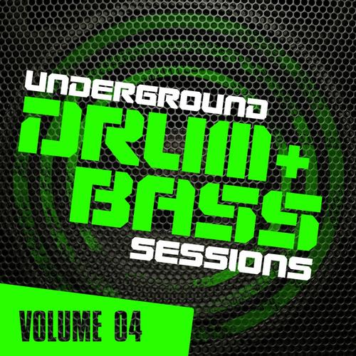 Underground Drum & Bass Sessions Vol. 4 Album Art