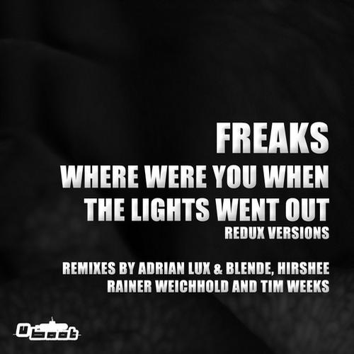 Album Art - Where Were You When The Lights Went Out - Redux Versions