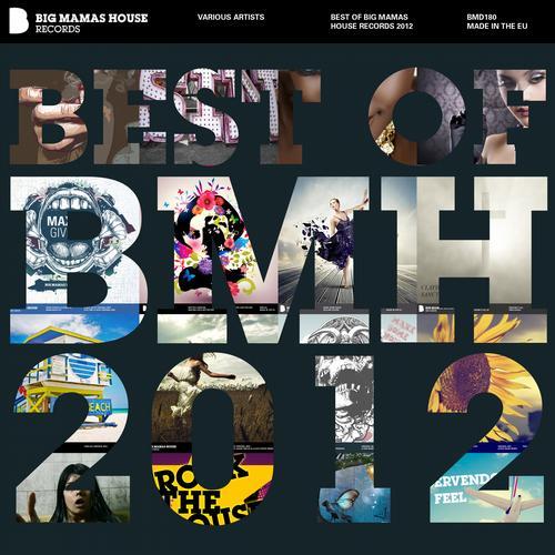 Best of Big Mamas House 2012 Album Art