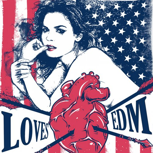 USA Loves EDM Album Art
