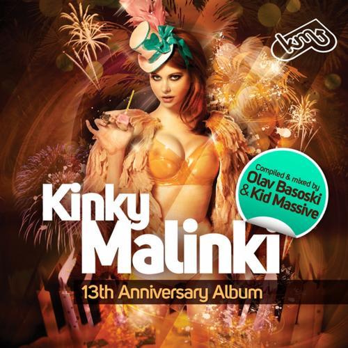 Album Art - Kinky Malinki - 13th. Anniversary Album (Compiled & Mixed By Olav Basoski & Kid Massive)