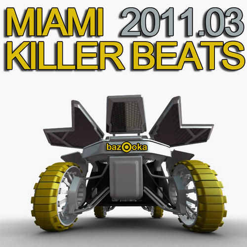 Album Art - Miami Killer Beats 03.2011