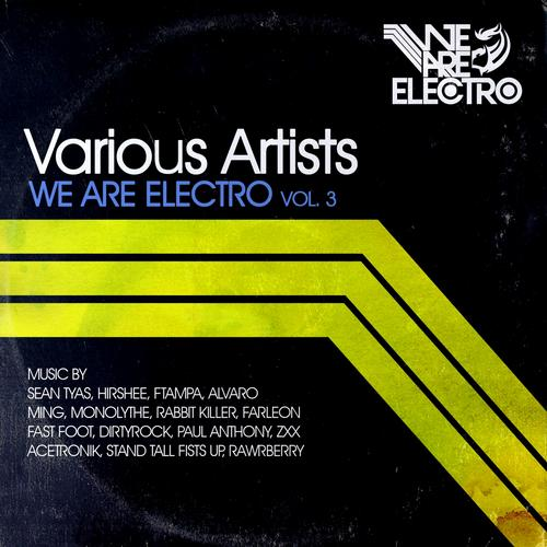 Album Art - We Are Electro Vol. 3