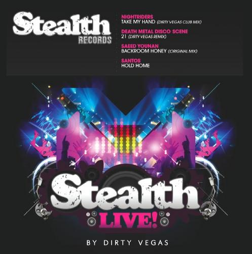 Album Art - Stealth Live! By Dirty Vegas EP