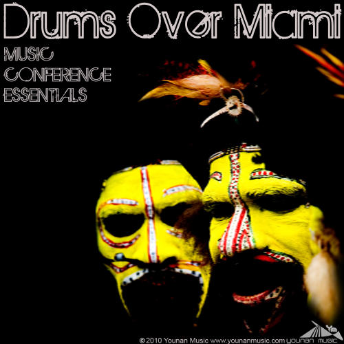 Album Art - Drums Over Miami (Music Conference Essentials)