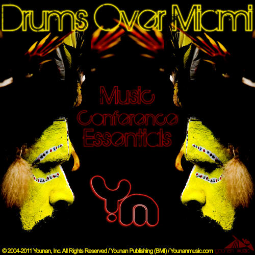 Album Art - Drums Over Miami 2 (Music Conference Essentials)