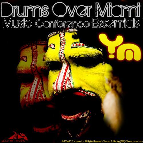 Album Art - Drums Over Miami 12 (Music Conference Essentials)