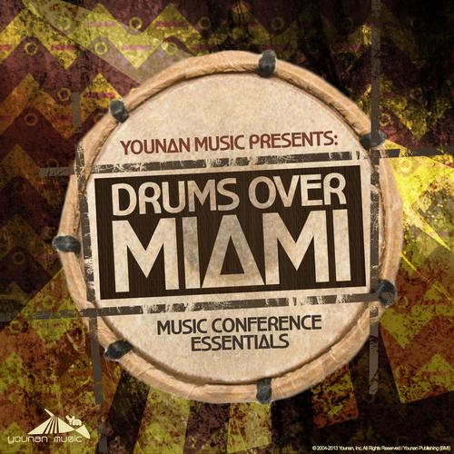 Album Art - Drums Over Miami 13 (Music Conference Essentials)