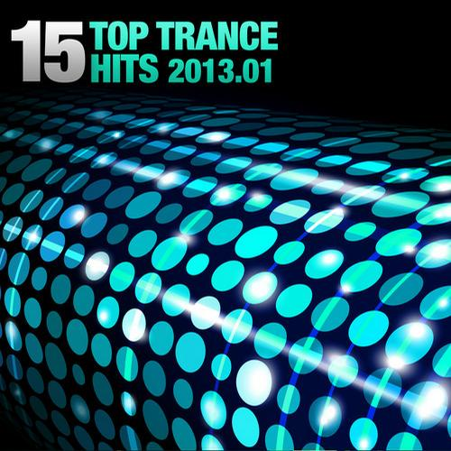 Album Art - 15 Top Trance Hits 2013-01