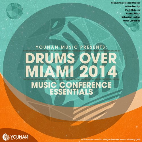 Album Art - Drums Over Miami 2014 (Music Conference Essentials)