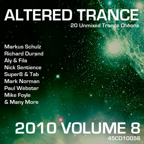 Album Art - Altered Trance 2010 Volume 8
