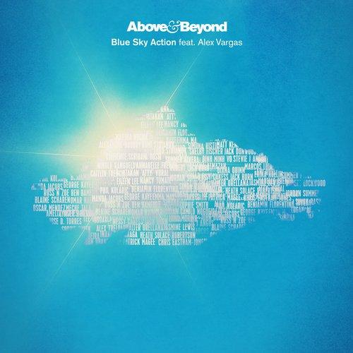Blue Sky Action (Remixes) Album Art