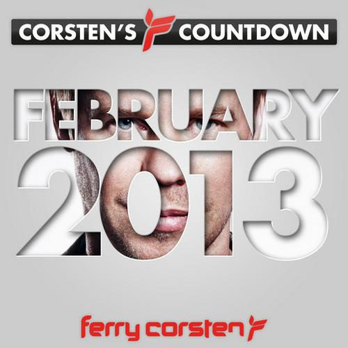 Album Art - Ferry Corsten presents Corsten's Countdown February 2013