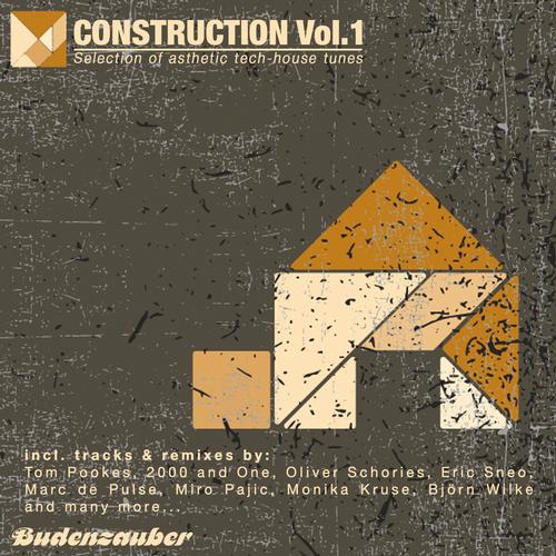 Album Art - CONSTRUCTION, Vol. 1 - Selection of Asthetic Tech-House Tunes