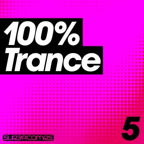 Album Art - 100%% Trance - Volume Five