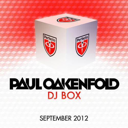 Album Art - DJ Box September 2012
